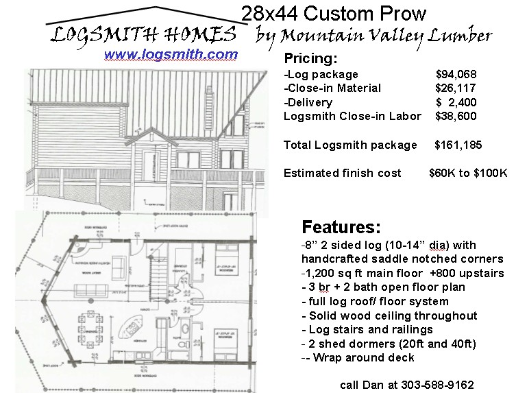 Free home plans prow house plans for Prow style house plans